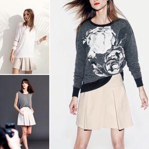 Kit + Ace Kensington pleated a-line ponte skirt 6